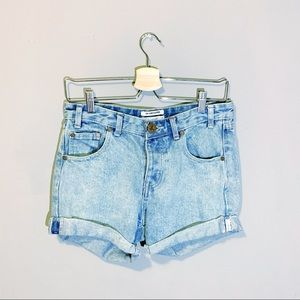 One Teaspoon | Charger Button Fly Jean Shorts 24